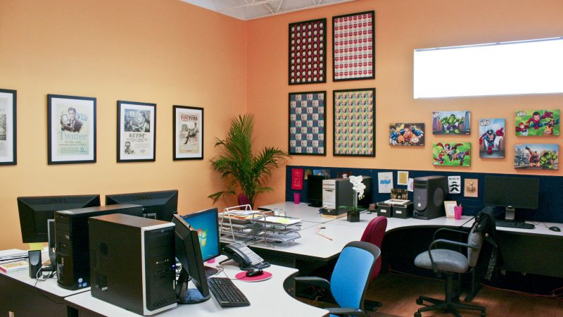 Mistakes to Avoid When Colouring Your Office