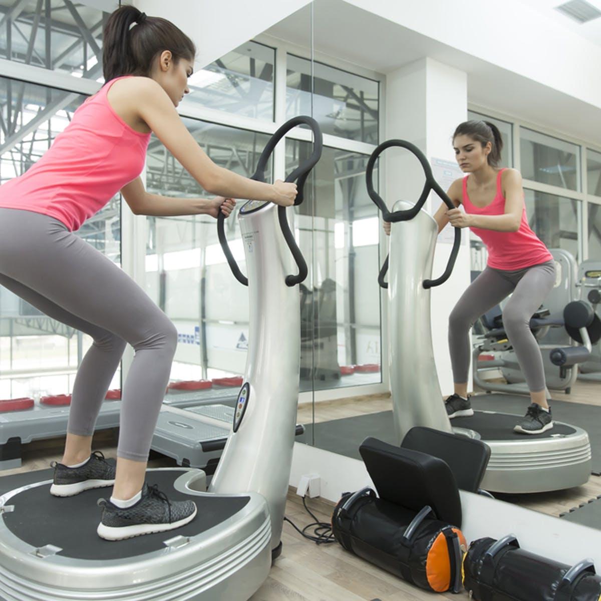 Whole Body Vibration Machine vs. Physical Exercise